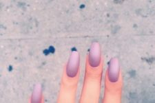 03 pink matte ombre nails