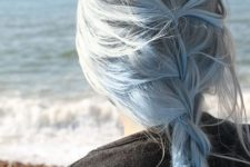 04 blue pastel hair is ideal to make a statement in the summer