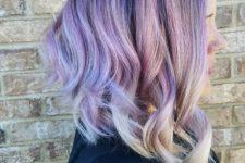 creative ombre hair idea