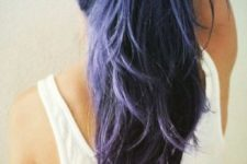 06 amethyst ombre hair in cold shades