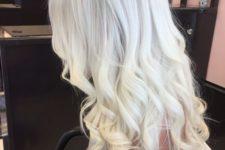 06 long icy blonde wavy hair looks great