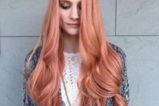 09 long blorange hair with waves for a trendy statement