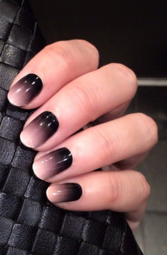 Brown And Black Living Room Decorating Ideas: 17 Chic Ombre Nails Ideas That Stand Out