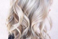 14 icy blonde balayage on natural blonde long hair