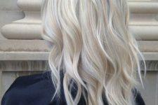 15 icy blonde balayage on usual blonde