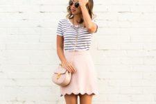 cute summer look with heels