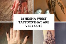 18 henna wrist tattoos that are very cute cover