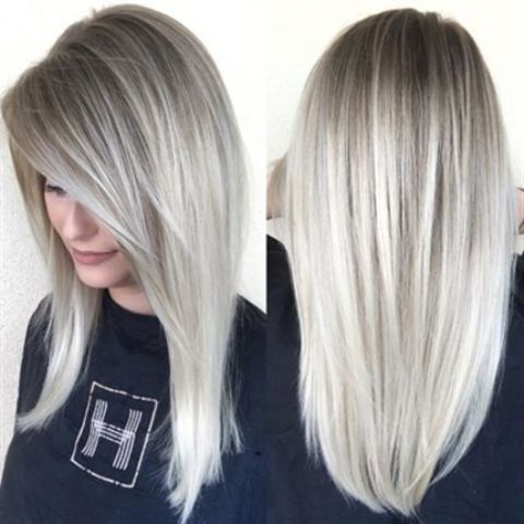 Picture of icy blonde ombre from darker roots 20 beautiful and trendy icy blonde hair ideas urmus Images