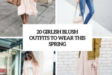 20 girlish blush outfits to wear this spring cover