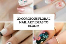 20 gorgeous floral nail art ideas to bloom cover