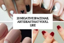 20 negative space nail art ideas that you'll like cover