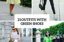 21 Beautiful Women Outfits With Green Shoes