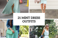 21 Gentle Outfits With Mint Green Dresses