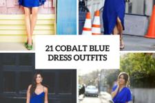 21 Gorgeous Cobalt Blue Dress Outfits