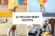 22 Excellent Outfits With Yellow Skirts