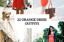 22 Orange Dress Outfits