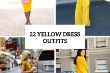 22 Outfits With Yellow Dresses