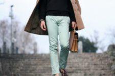 trendy men's spring work look
