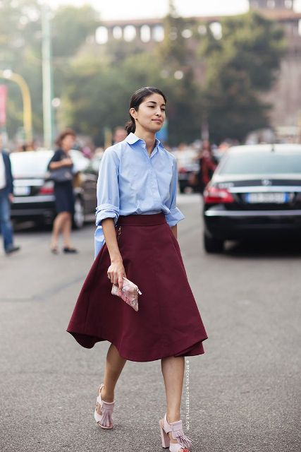 21 Cool Outfits With Mint Skirts images