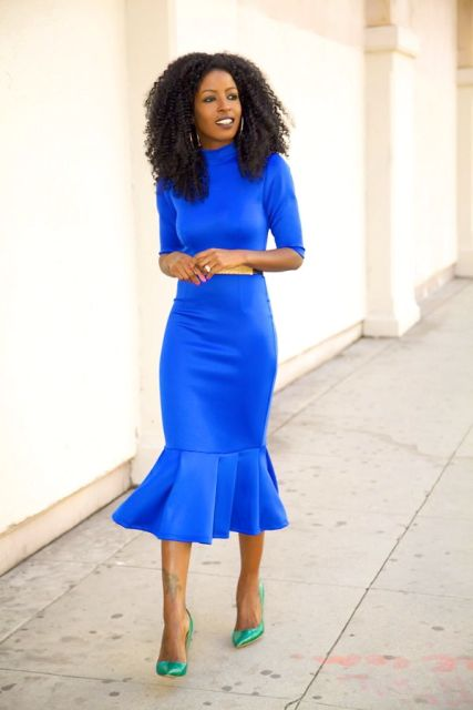 21 Gorgeous Cobalt Blue Dress Outfits Styleoholic