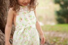 romper summer girl's outfit