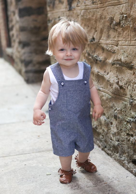 16 Sweet And Comfy Kids' Overall Ideas For Summer