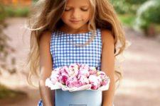 cute little girl's summer outfit