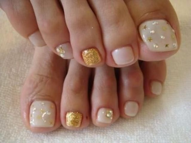 Picture of neutral nail art prinsesfo Image collections