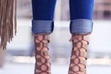 13 tan leather lace up heels for a stylish statement