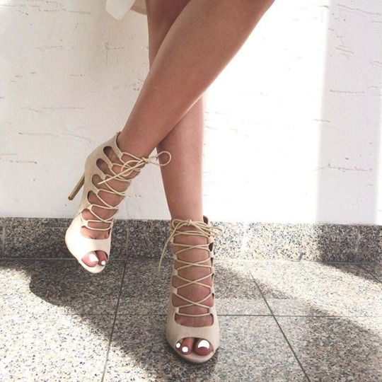 46a7f310b 20 Trendy Lace Up Sandals For This Summer - Styleoholic