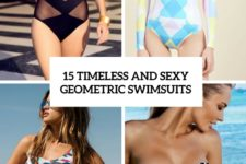 15 timeless and sexy geometric swimsuits cover
