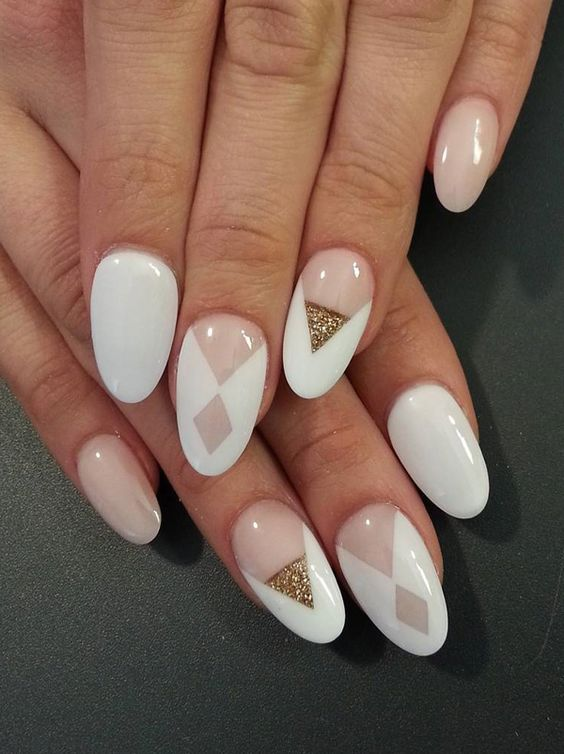 20 Chic Nail Art Ideas For Almond Shape Styleoholic