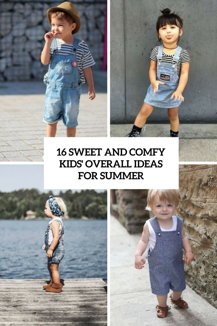 eb11d3c34a 16 Sweet And Comfy Kids  Overall Ideas For Summer - Styleoholic