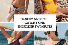 16 sexy and eye-catchy one shoulder swimsuits cover