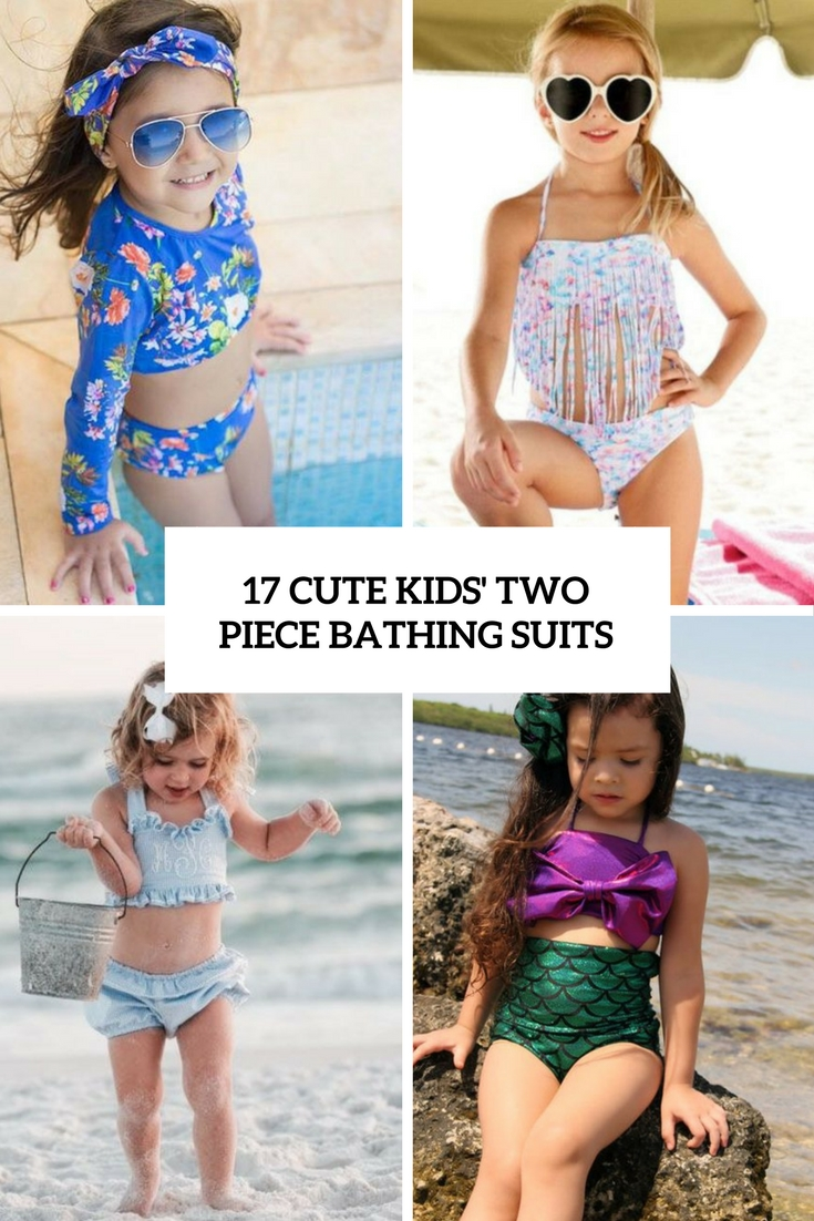 cute kids' two piece bathing suits cover