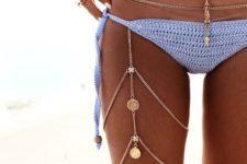 18 gypsy-inspired layered leg chain