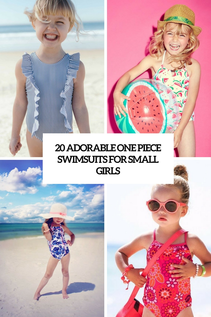 20 Adorable One Piece Swimsuits For Small Girls