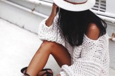 20 black suede flat sandals for an effortlessly chic summer look