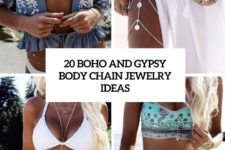 20 boho and gypsy body chain jewelry ideas cover