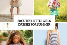20 cutest little girls' dresses for summer cover