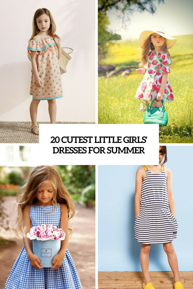 20 Cutest Little Girls' Dresses For Summer