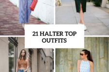 21 Cool Halter Top Outfits To Repeat