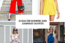 21 Halter Romper And Jumpsuit Outfits