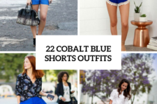 22 Cobalt Blue Shorts Outfits For Women