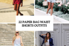 22 Paper Bag Waist Shorts Outfits To Try