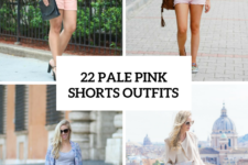 22 Women Outfits With Pale Pink Shorts