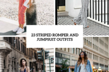 23 Striped Romper And Jumpsuit Outfits To Repeat