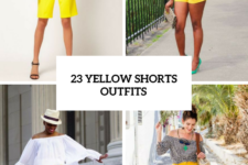 23 Women Outfits With Yellow Shorts