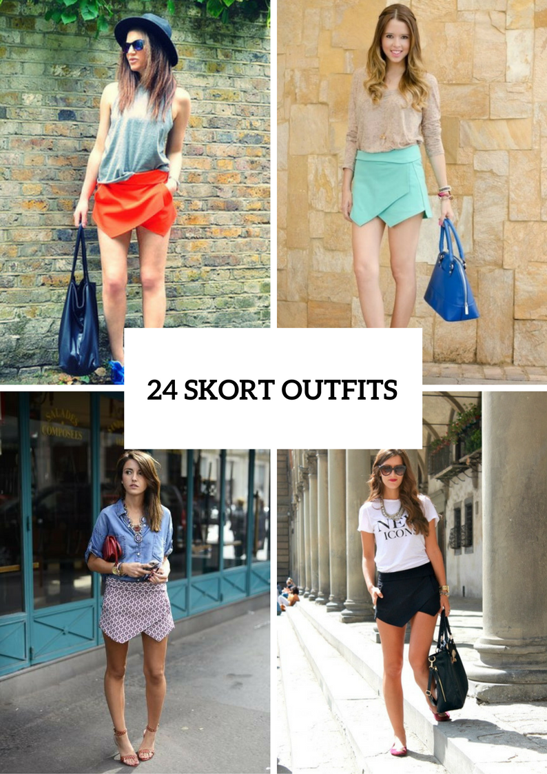 Trendy Outfits With Skorts