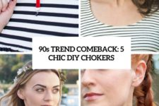 90s trend comeback 5 chic diy chokers cover